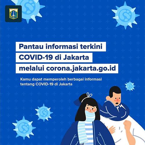 Pantau Informasi Terkini Covid-19 di Jakarta