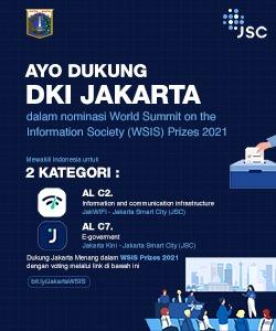 DKI Jakarta dalam Nominasi World Summit on the Information Society