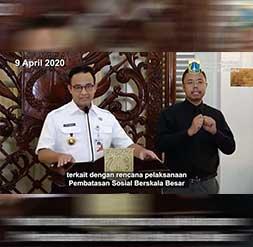 Pergub No. 33/2020 Sebagai Dasar Hukum PSBB
