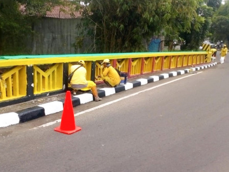 33 Bridges in South Jakarta have Been Beautified