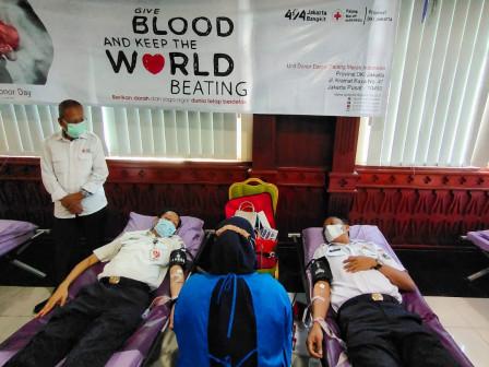 Plt Wali Kota Jaksel Ajak ASN Pemkot Jaksel Donor Darah