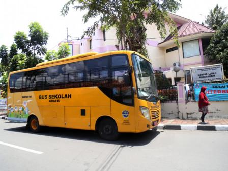 70 Bus Sekolah Dioperasikan Selama PTM Terbatas, Ini Rutenya