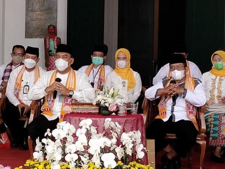 Pemkot Jakarta Barat Gelar Pencanangan HUT Ke-494 Kota Jakarta di Lobby Museum Keramik Kota Tua