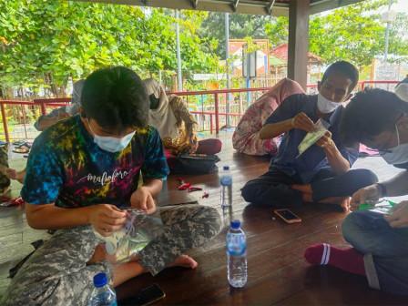 30 Jakpreneur dari Pulau Harapan dan Pulau Kelapa Ikuti Pelatihan Sablon Digital