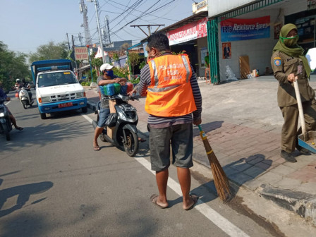 January 1-25, 5,358 People in North Jakarta Netted During PSBB