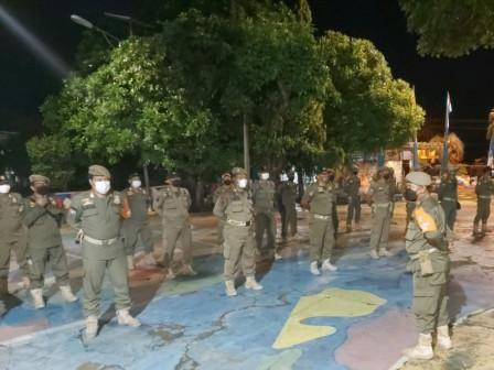 Dua Warga Terjaring Operasi Pengawasan PPKM MIkro di Kelurahan Pulau Panggang
