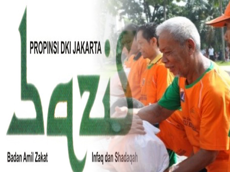 867 Janitors Received Financial Aid from North Jakarta BAZIS