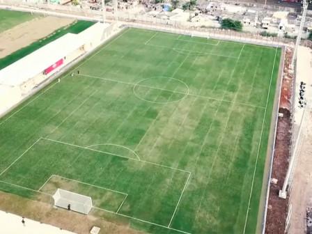 Gubernur Resmikan Lapangan Latih Stadion Jakarta International Stadium