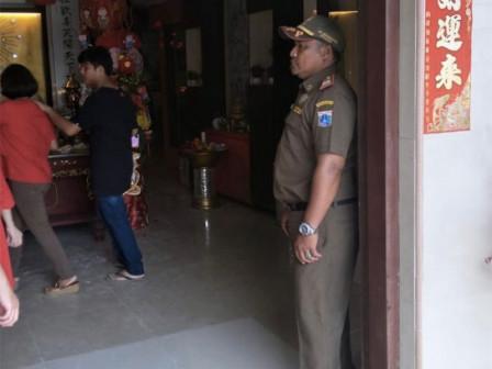 Satpol PP Alerted to Smoothen Imlek Celebration in North Jakarta