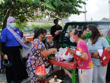2.545 KK di Jakut Didistribusikan Bantuan Evoucher Duithape