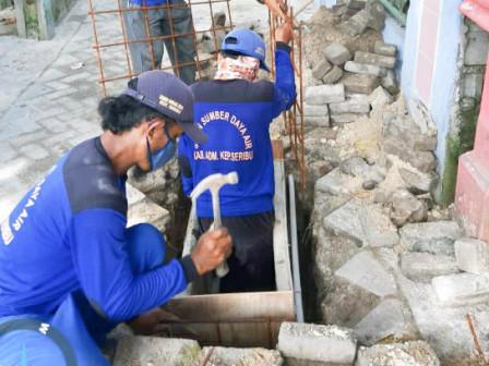Tiga Sumur Resapan Dibangun Di Kelurahan Pulau Kelapa Rampung