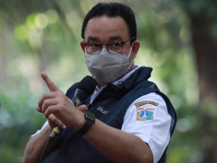 PPKM Jakarta Turun ke Level 2, Gubernur Anies Ingatkan Tetap Waspada