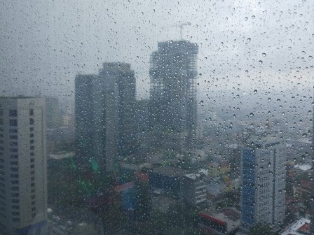 Rain will Fall in Parts of Jakarta From Afternoon to Night