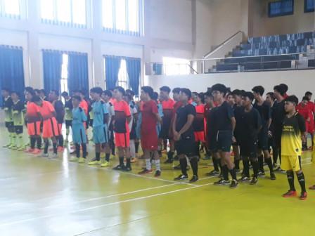Kecamatan Tanah Abang Gelar Lomba Futsal Olahraga Sepanjang Tahun