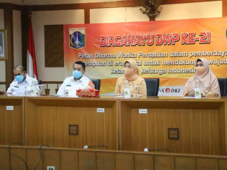 Peringatan HUT DWP ke-21 di Jakut Digelar Secara Daring