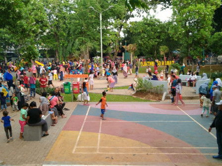 Warga Tanjung Priok Bersyukur Miliki Taman Gorontalo Yang Indah