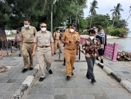 Deputi Gubernur Bidang Budaya dan Pariwisata Kunker ke Kepulauan Seribu