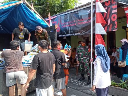 5.262 Bansos dari DKI Didistribusikan di Utan Kayu Utara