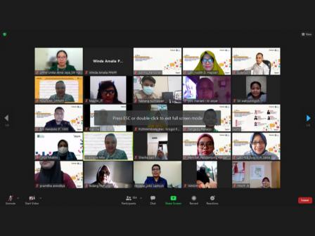 Ratusan Jakpreneur Dinas PPAPP Ikut Pelatihan Kolaborasi Pemasaran Digital Melalui Marketplace