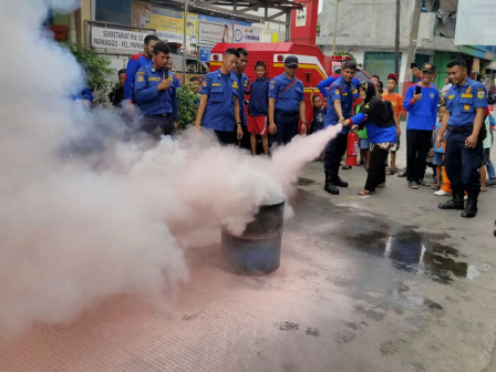 North Jakarta Citizens Trained to Overcome Fire