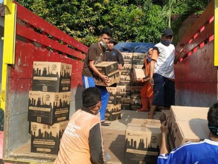 9.906 Paket Bansos Didistribusikan di Kelurahan Cipinang Melayu