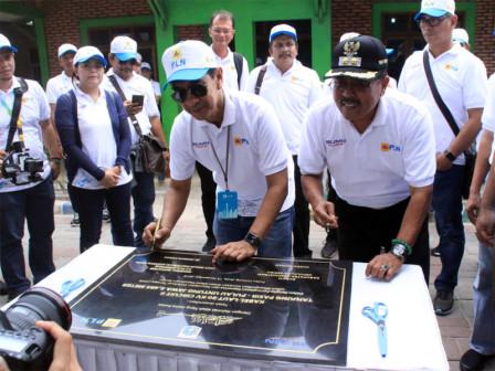 Tanjung Pasir - Untung Jawa Island's Undersea Cables Inaugurated