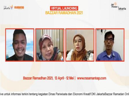 Dinas Parekraf Gelar Bazaar Ramadhan Online