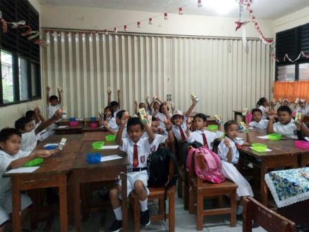 33 SD Negeri Jadi Sasaran PMTAS di Wilayah Pendidikan II Jakpus
