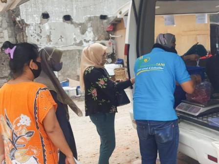 DKPKP DKI Gandeng Perumda Pasar Jaya Gelar Pangan Murah di Lima Pasar