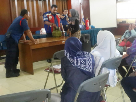 Dasa Wisma Cadres Trained in Tracking Fire Insecurity