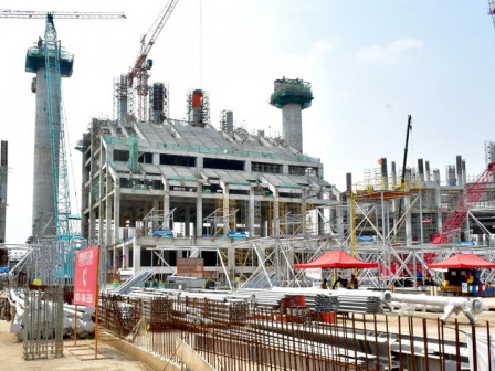 JIS Construction Progress Reaches 35.8 Percent