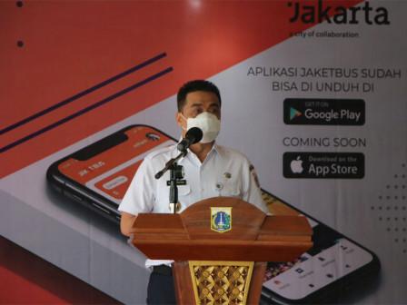 Wagub Hadiri Peresmian 'Jaket Bus' Layanan Transaksi Tiket Transportasi Berbasis Elektronik