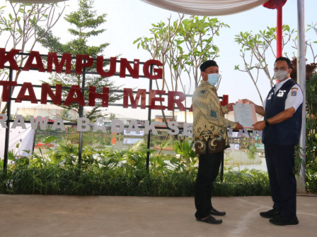 Gubernur Anies Jamin Permukiman Yang Layak Bagi Warga Tanah Merah