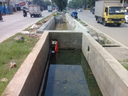 Stilling Basin Construction on Jalan Pangeran Tubagus Angke Has Been Completed