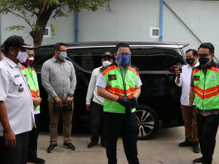 Kunjungi Kawasan Industri Pulogadung, Wagub Ariza Imbau Sektor Esensial dan Kritikal Patuhi PPKM Dar