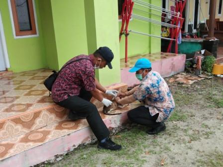 424 HPR di Dua Pulau Permukiman di Kepulauan Seribu Telah Divaksin Rabies