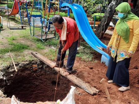 Ciganjur Urban Village Targets to Build 91 Infiltration Wells This Year