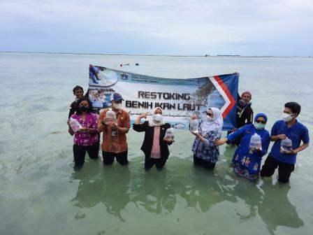 Pemkab Kolaborasi Jaga Kelestarian Ekosistem di Pulau Tidung Kecil