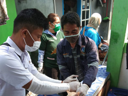 1.509 HPR di Kepulauan Seribu Berhasil Divaksinasi Sepanjang Juni - November