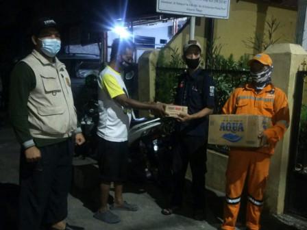 Sudin Sosial Jaktim Brrikan Bantuan Korban Kebakaran Pinang Ranti