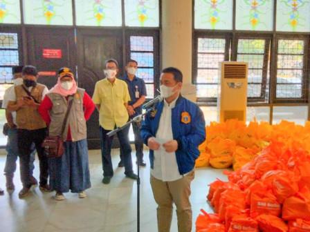 Kolaborasi Wagub DKI Jajarta FKD FPK Salurkan Bantuan Peduli Sosial