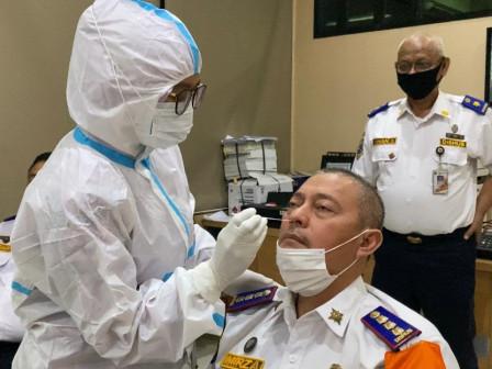 111 Pegawai UP PKB Pulogadung Jalani Swab Antigen Massal