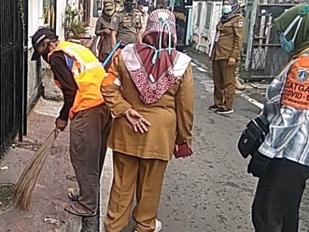 26 Warga Rawasari Terjaring Operasi Tertib Masker