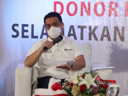 Hari Donor Darah Sedunia, Wagub Ariza Tegaskan Pemprov DKI dan PMI Tingkatkan Kolaborasi Penuhi Stok