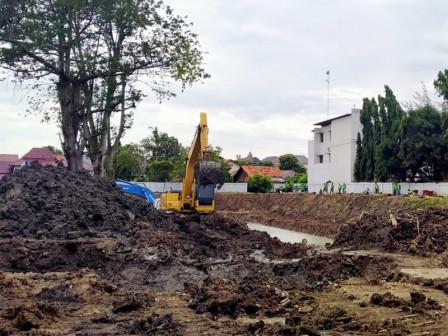 Embung Development on Jalan Wirajasa Has Entered Finishing Stage