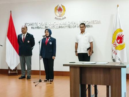 Sylviana Murni Resmi Dilantik Sebagai Ketum PB Persatuan Squash Indonesia