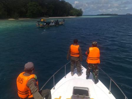Tujuh Pelanggar Terjaring Saat Operasi Tertib Masker di Perairan Kepulauan Seribu