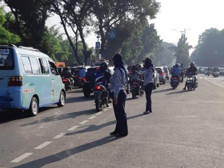 Transportation Sub-dept. Officers Alerted in Kalibata TMP Area