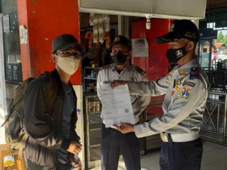 Pengawasan Operasional Bus AKAP di Terminal Kampung Rambutan Terus Diintensifkan