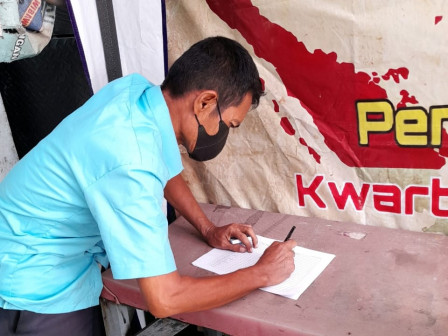 Replaced Civil Documents for Fire Victims in Keagungan Issued